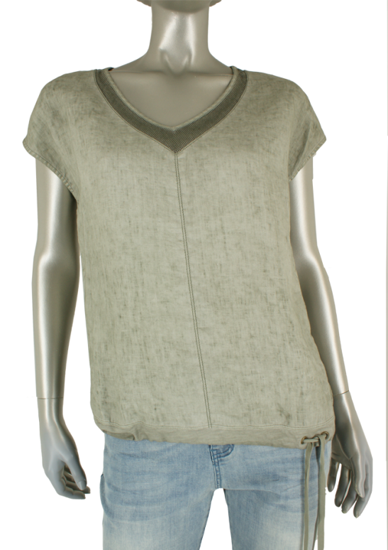 Sandwich, 22001815 50020 Light  Green Olive - Blouse's