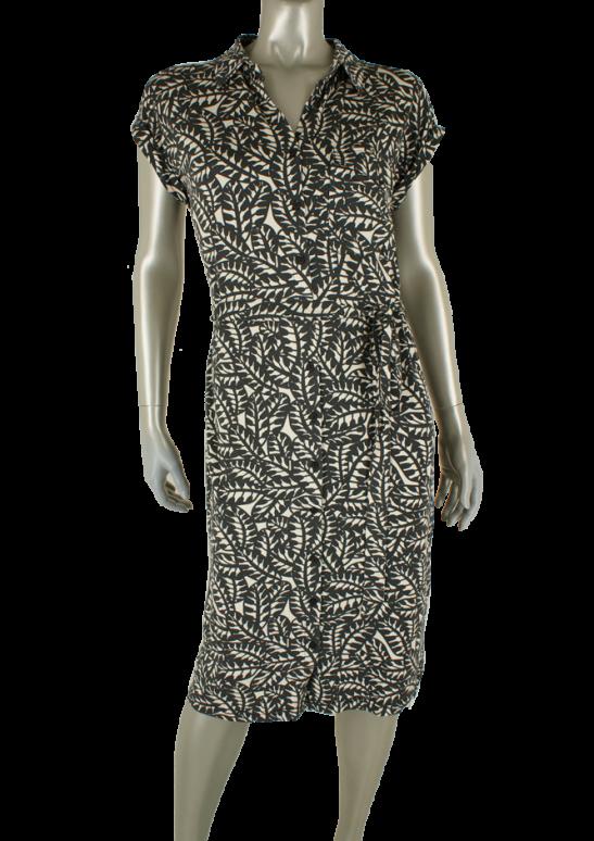 Geisha, 17451-20 000010-Off/White/Black Combi - Jurken
