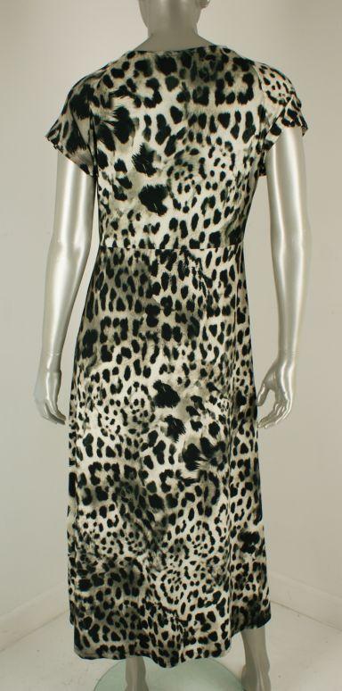 Geisha, 17395-60 Jane 000907/Sand Black Leopard - Jurken
