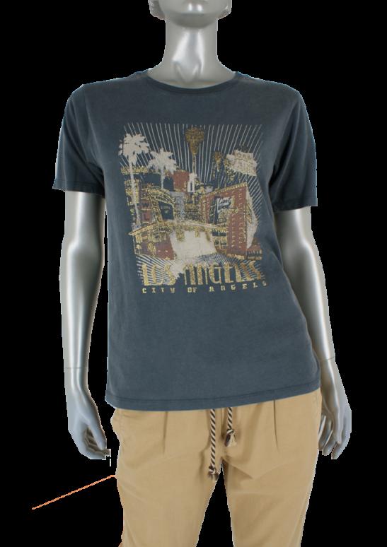 Geisha, 12517-30 000950/Antraciet/Camel - Shirts