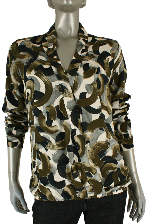 Sandwich, 22001958 50130/Military Olive - Blouse's