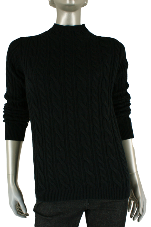 Beau Femme Mode, 1L815/Claire 9/Black - Truien/Pullovers