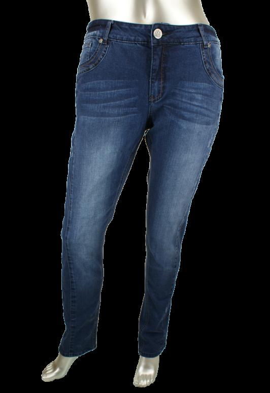 Veto, Camille lengte 34 1629/Medium Blue - Broeken