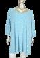 X-Two Blue Jewel 90363(mouw) Blauw/Wit