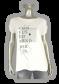 Azuri T-shirt tekst 3003 Off-White