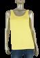 Beau Femme Mode 1L391 Belle Singlet Yellow