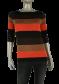 Beau Femme Mode 1L588/Bretagne 82/Dark Brown